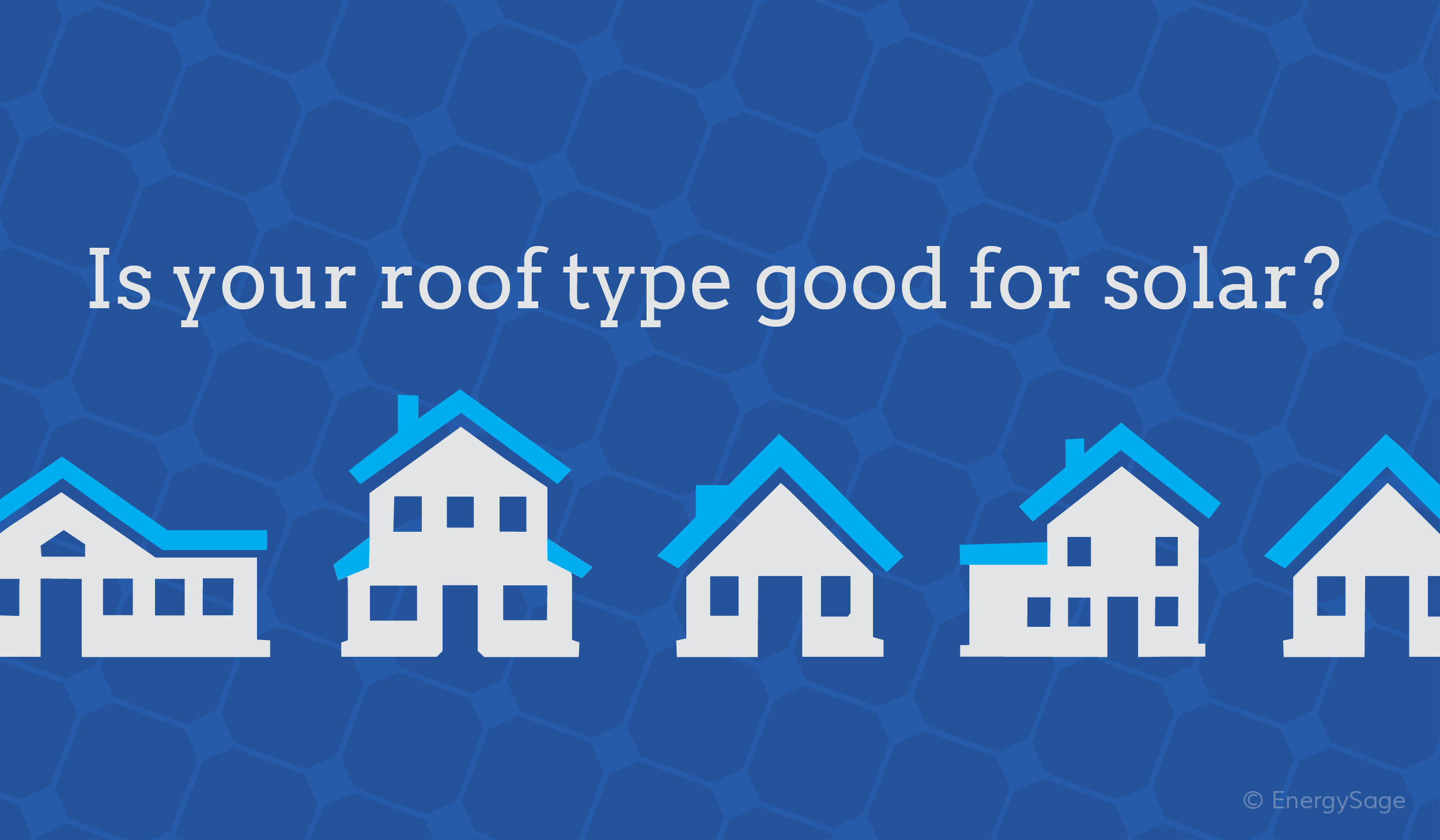 best roof types for solar
