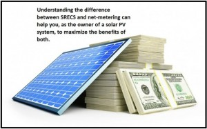 The Role of SRECs vs. Net-metering