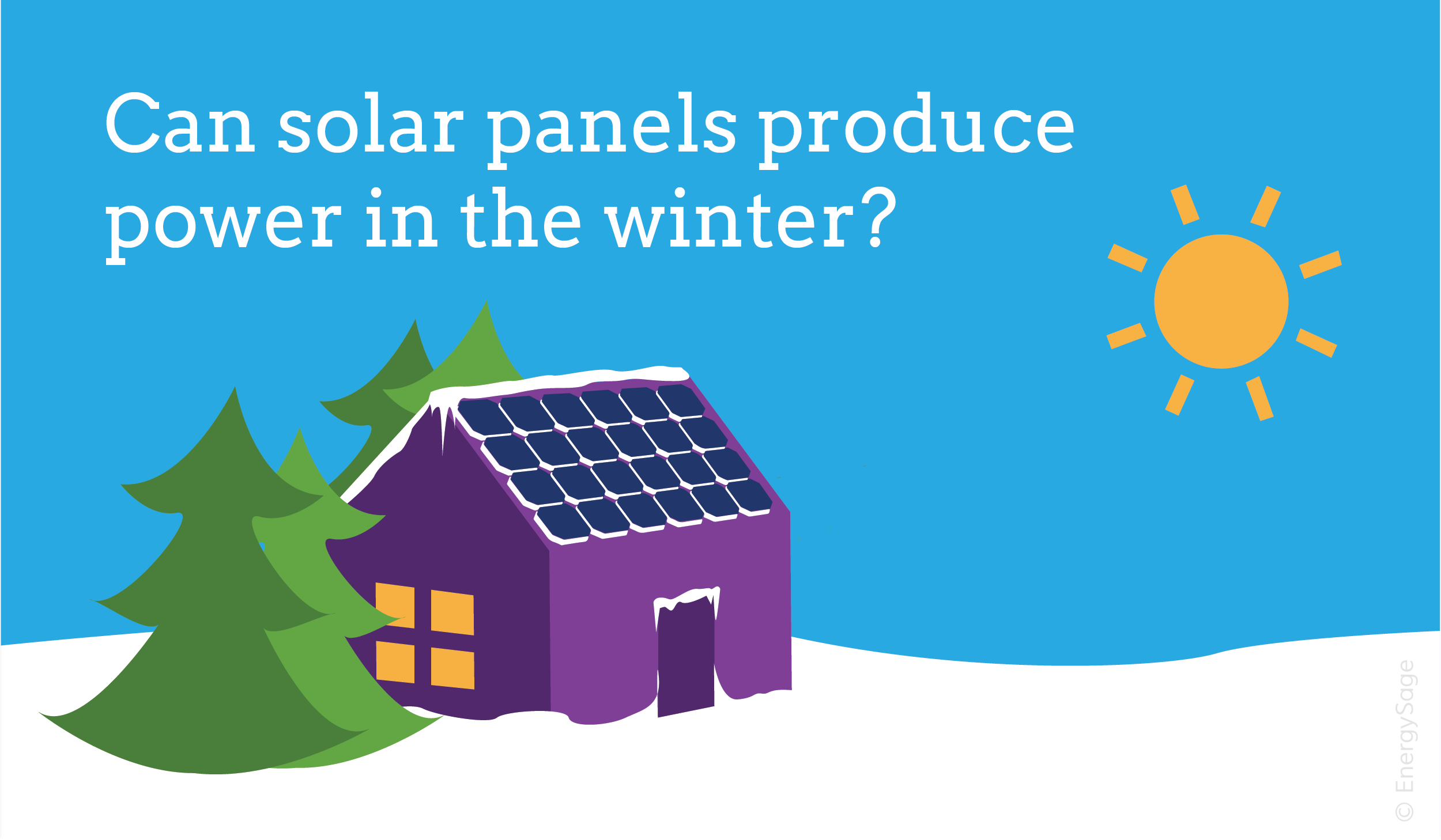 Do Solar Panels Work During Winter Energysage