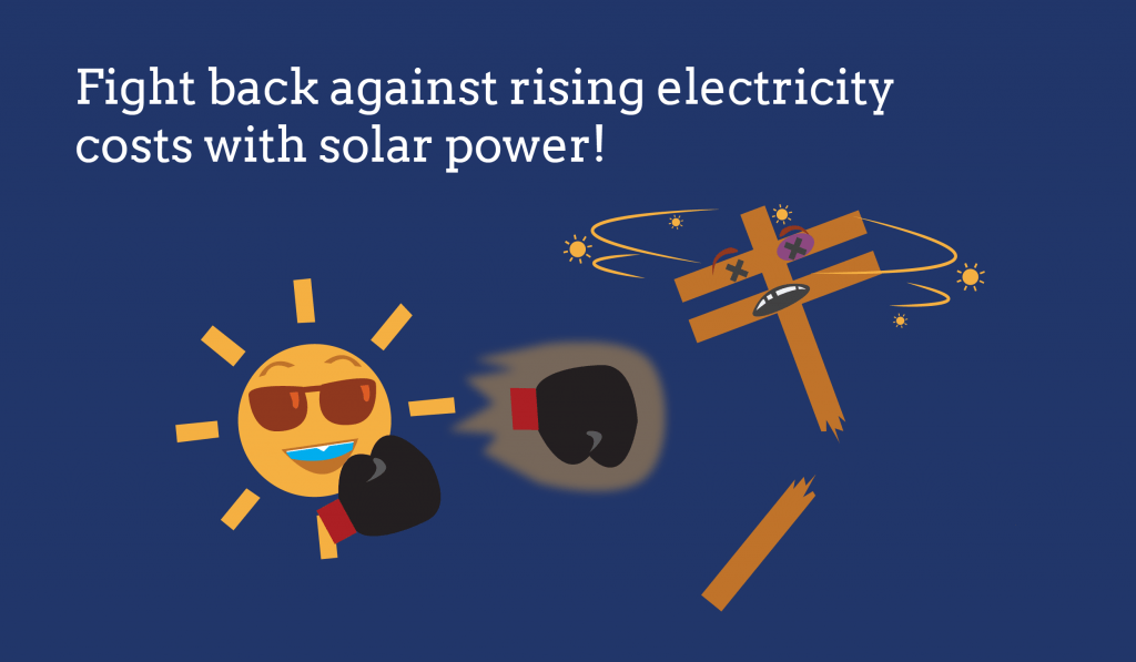 solar fights electric