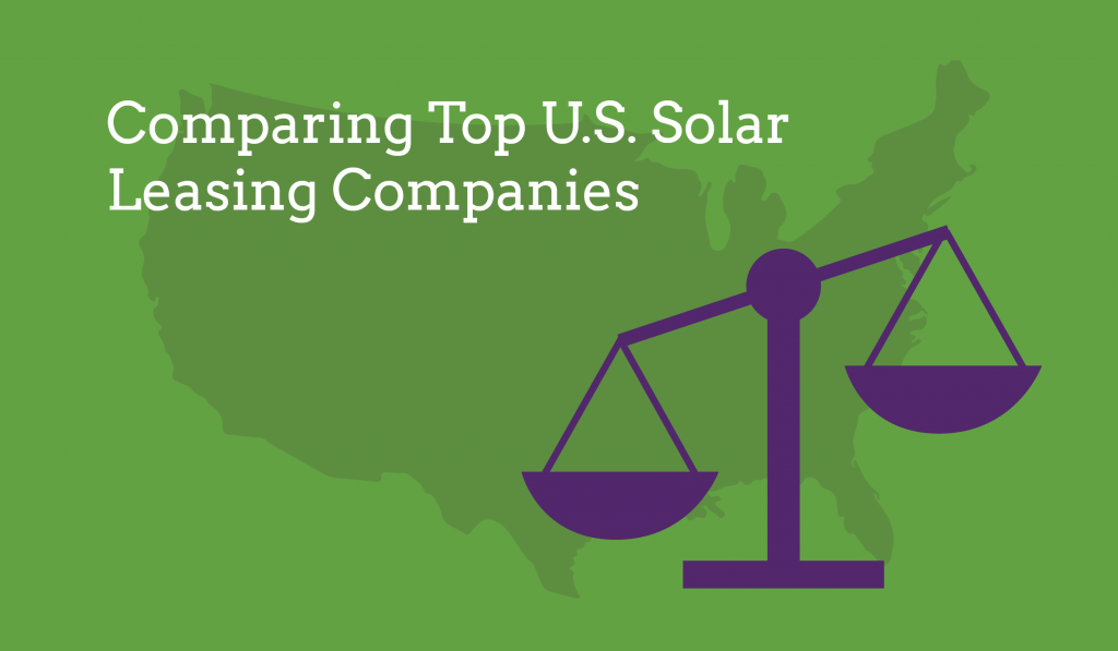 Top solar leasing companies graphic energysage