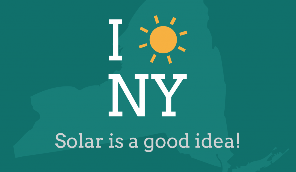 new york solar energy graphic