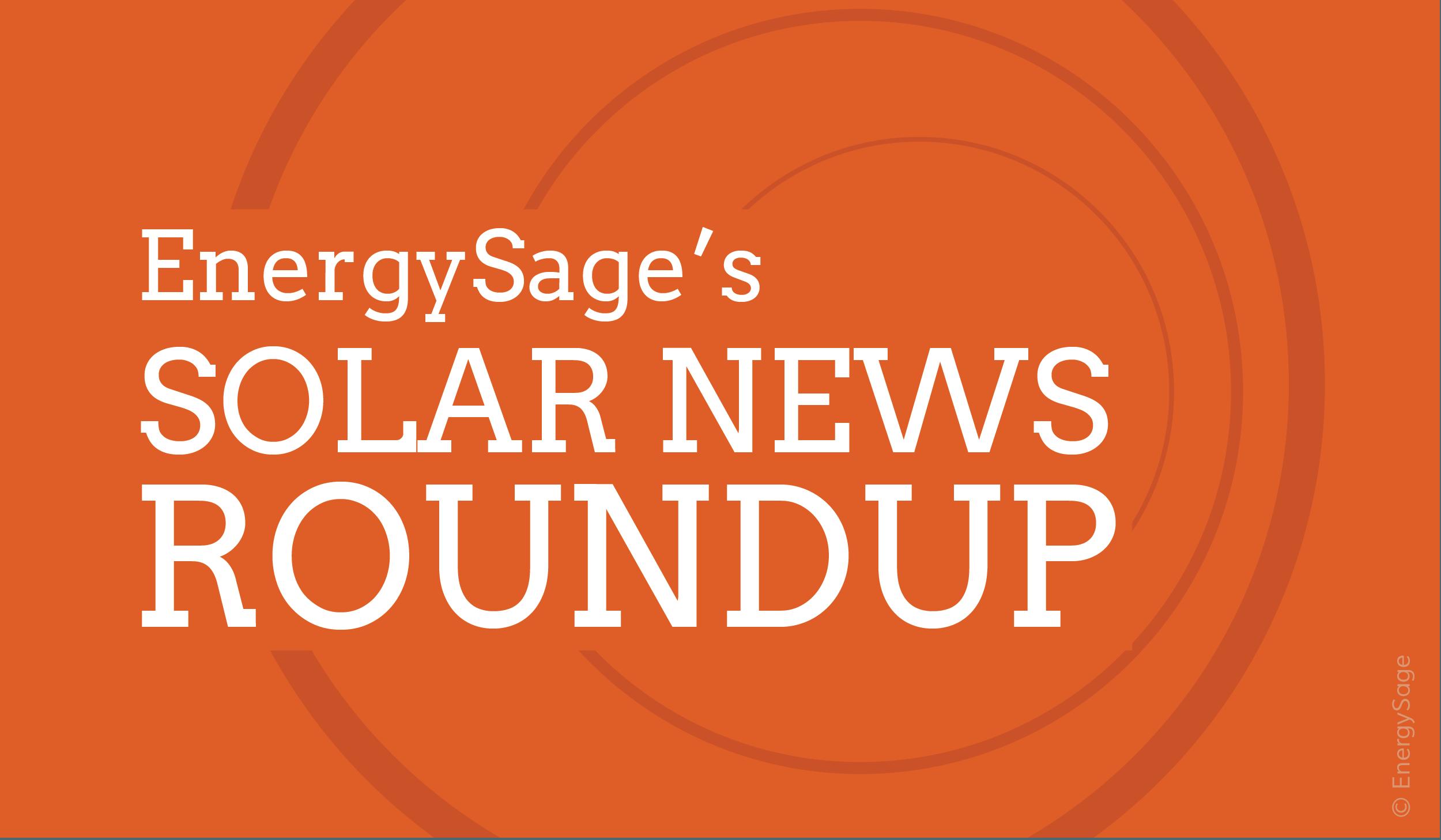 Solar News Roundup