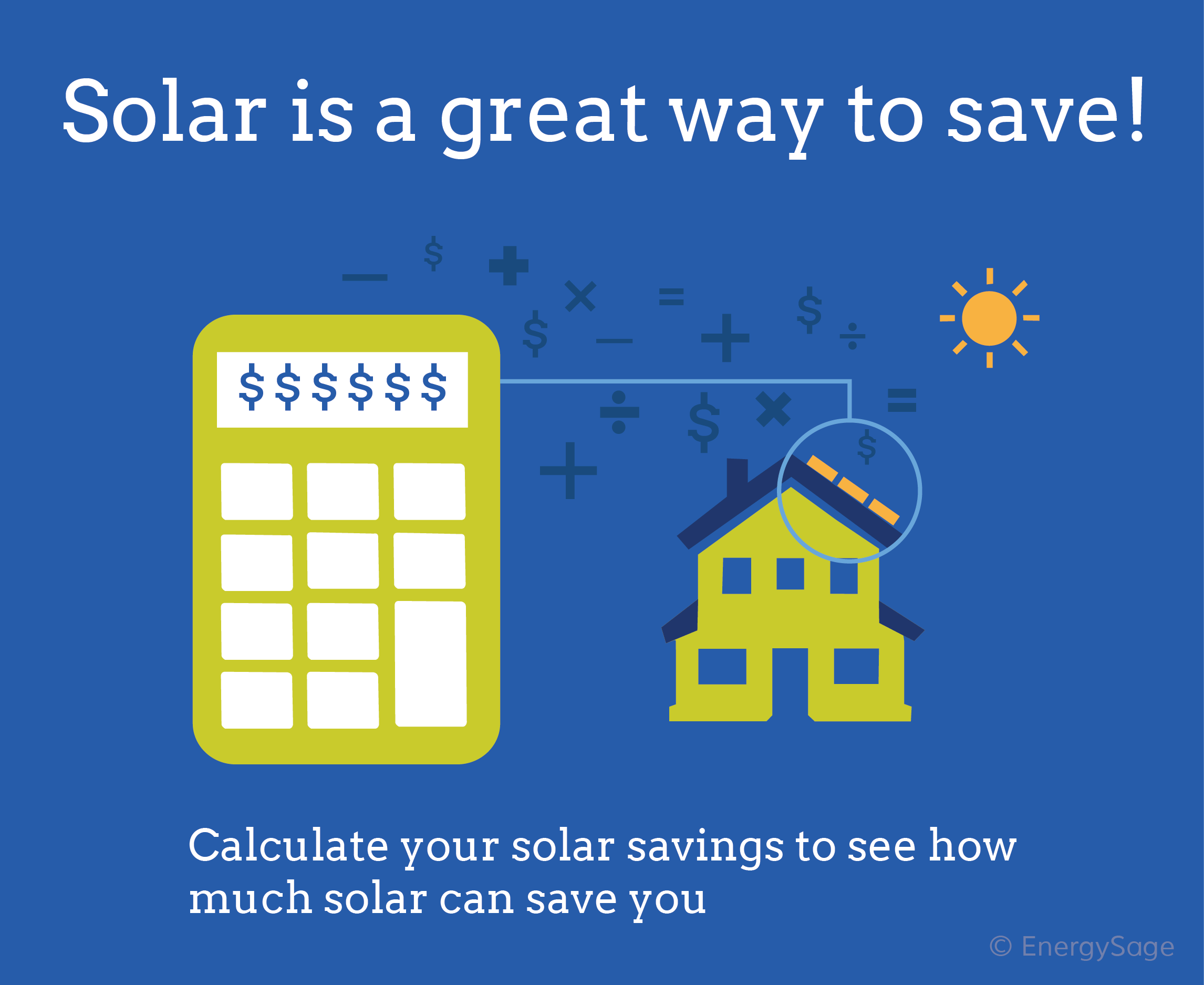 Calculate your home solar savings