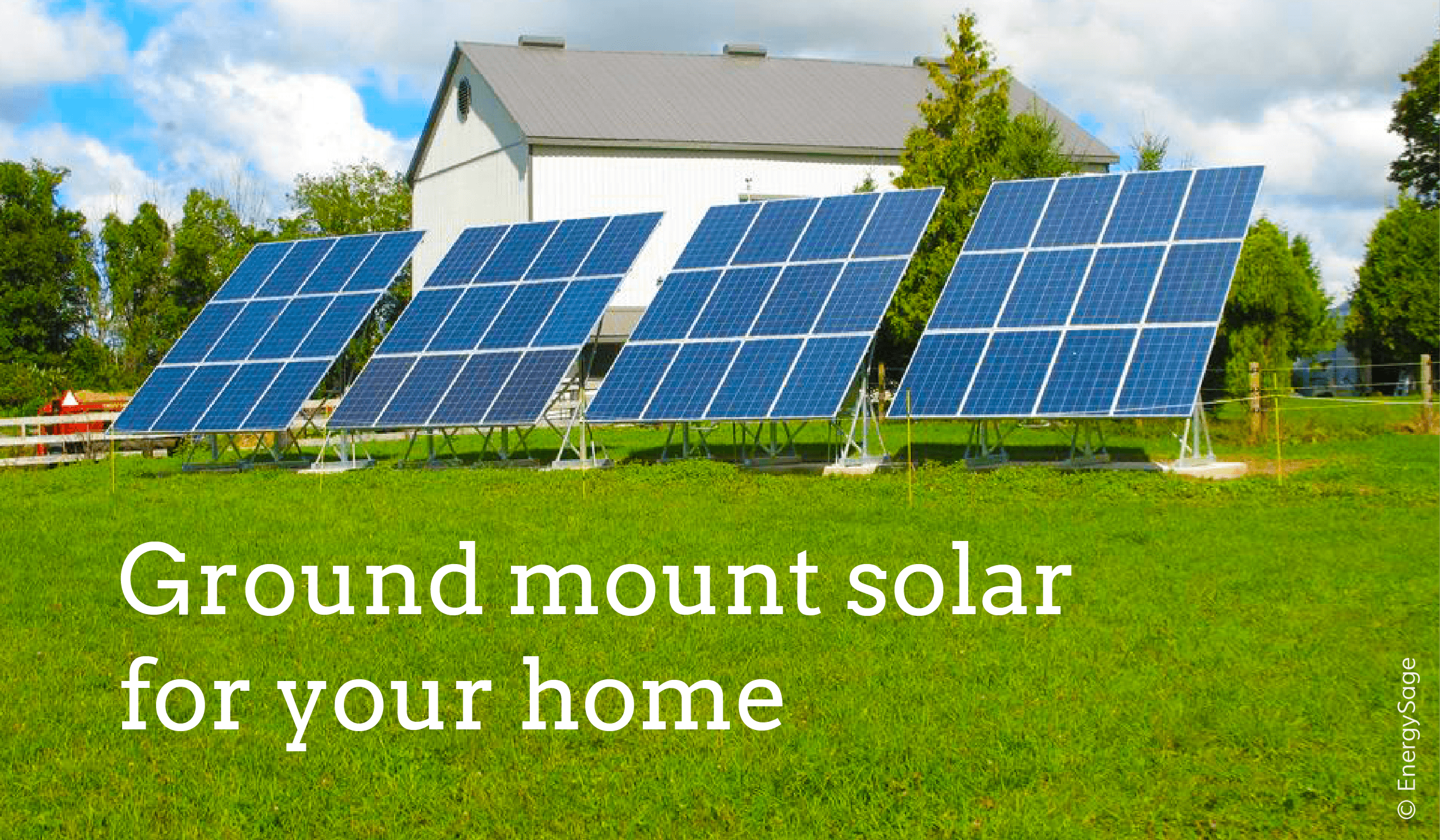 ground mounted solar panels