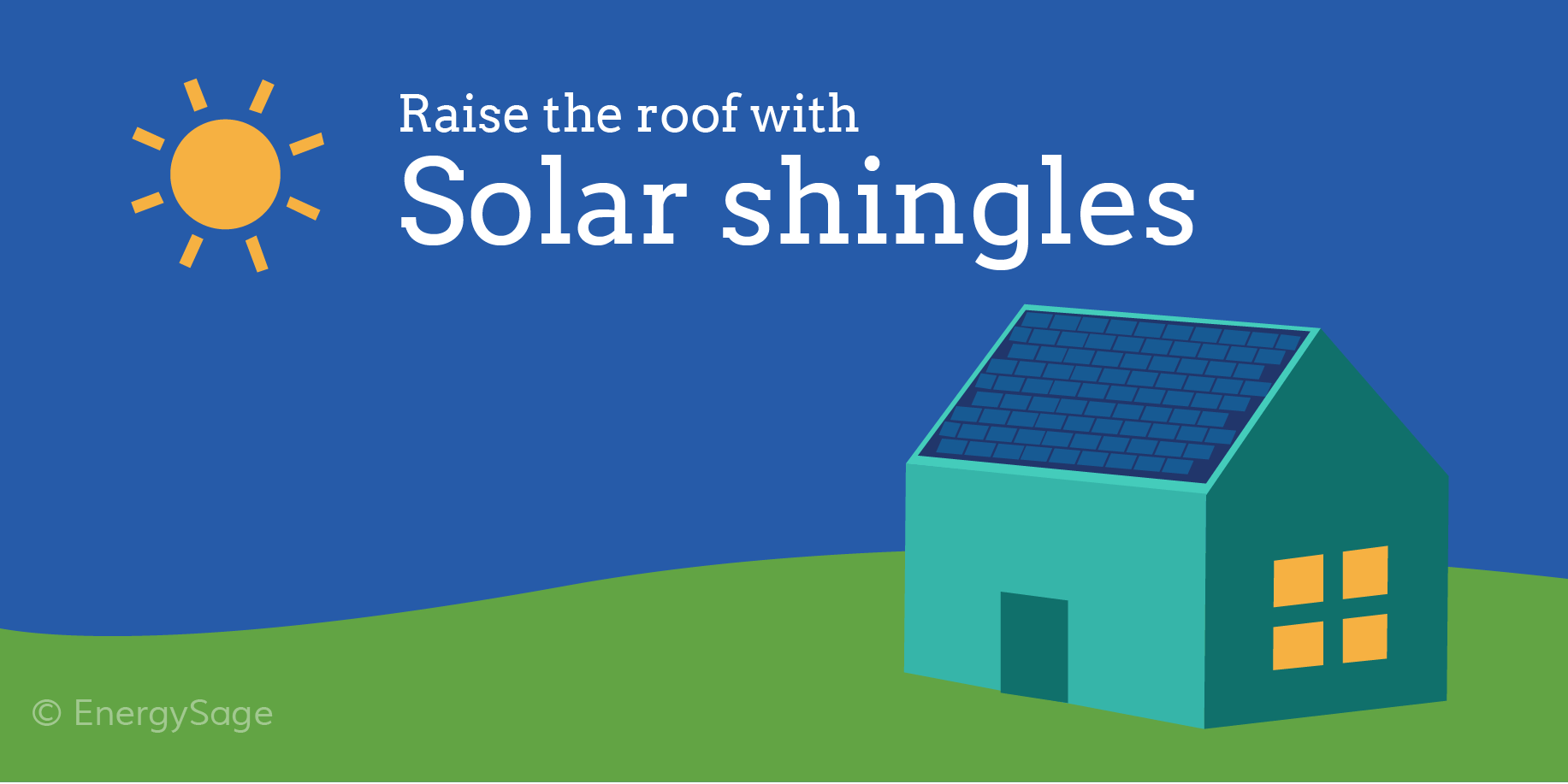 solar shingles vs solar panels comparison energysage
