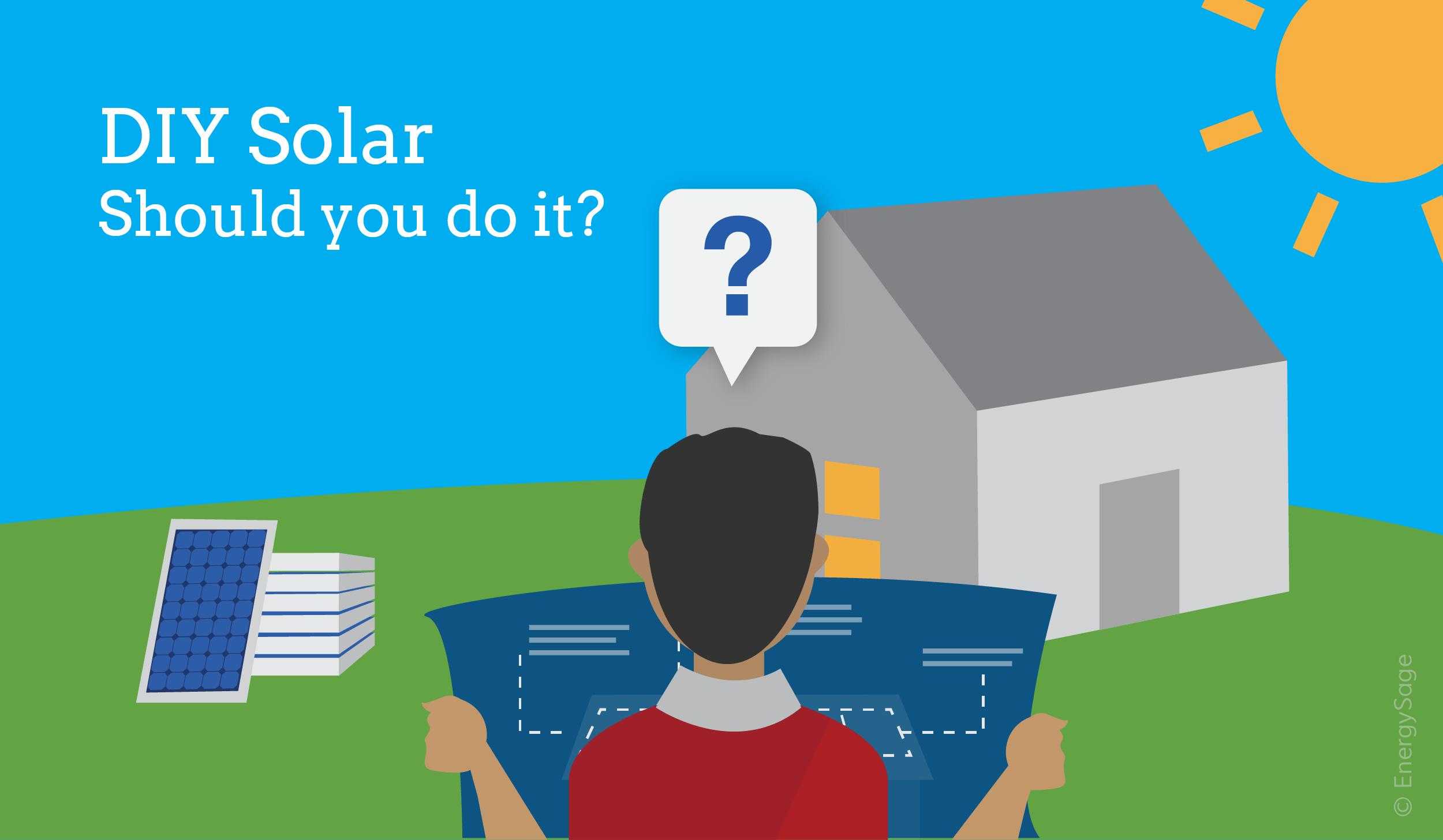 DIY solar energy with a solar kit EnergySage