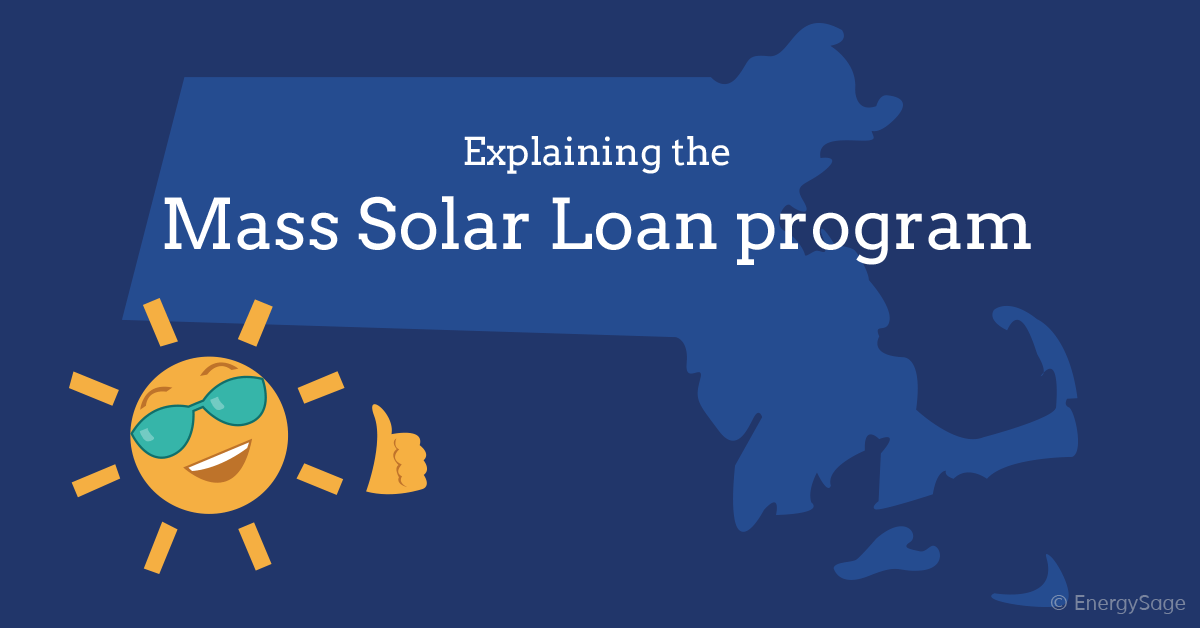 Explaining the mass solar loan program graphic EnergySage