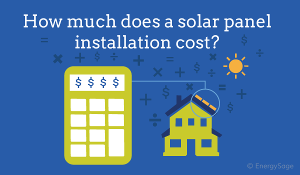 solar panels cost in the u.s. graphic