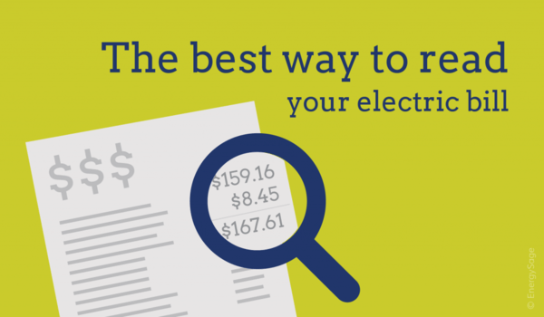 how to read your electric bill