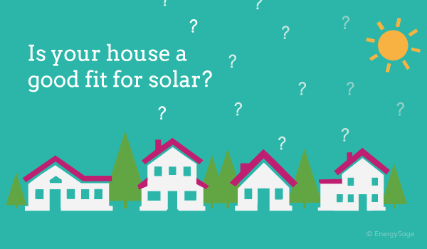 is your home good for solar on energysage