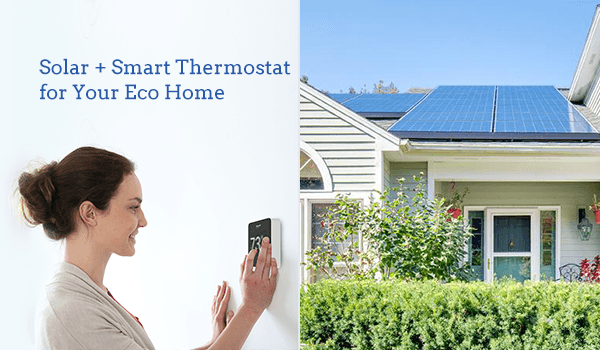 solar and smart thermostats