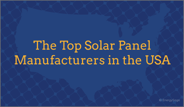 top solar panel companies and manufacturers