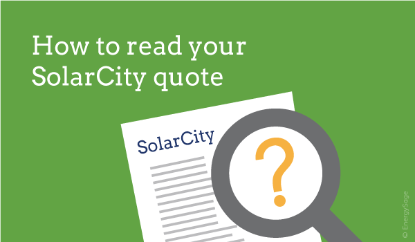 how to review a solarcity quote for lease or ppa