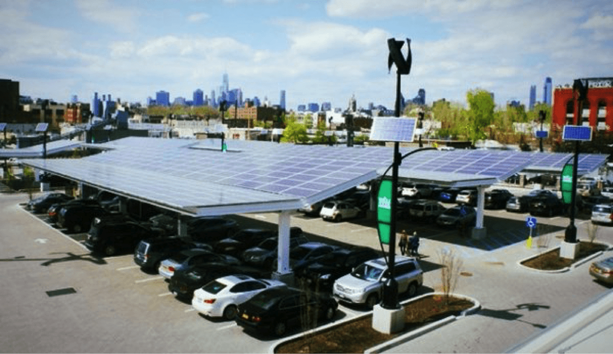parking lot solar canopy
