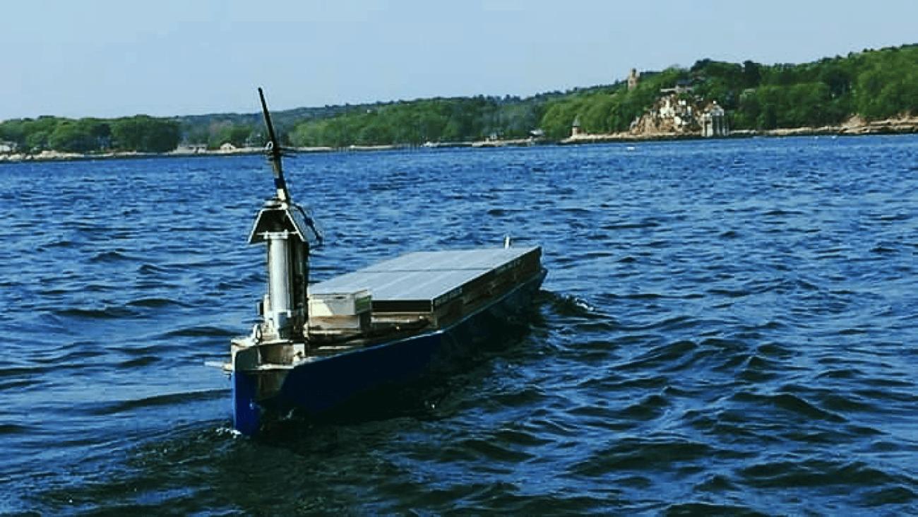 Solar Voyager boat