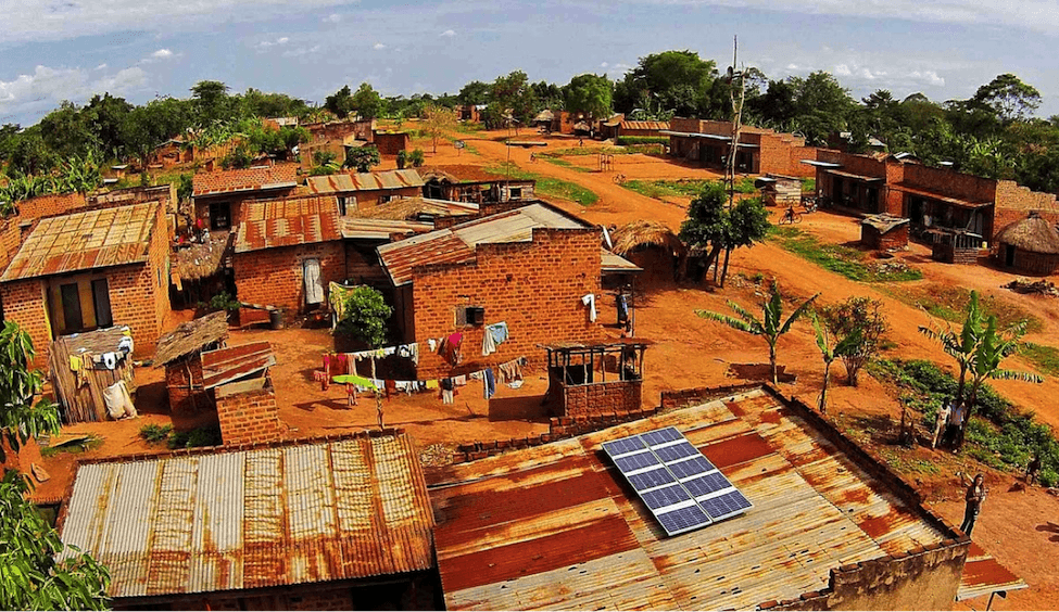 off-grid solar panels in Tanzania