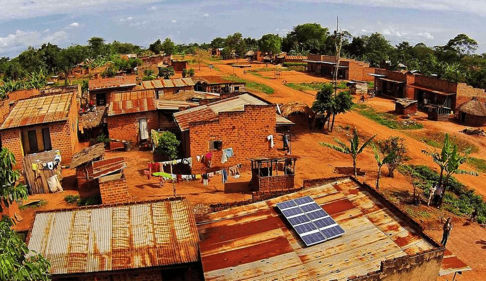 off-grid solar panels in Tanzania