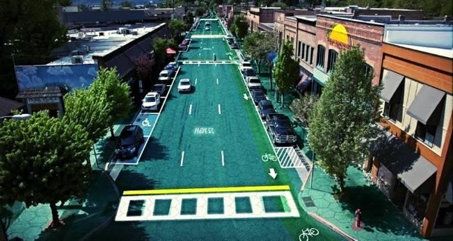 solar roadways on route 66