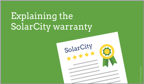 SolarCity warranty explained