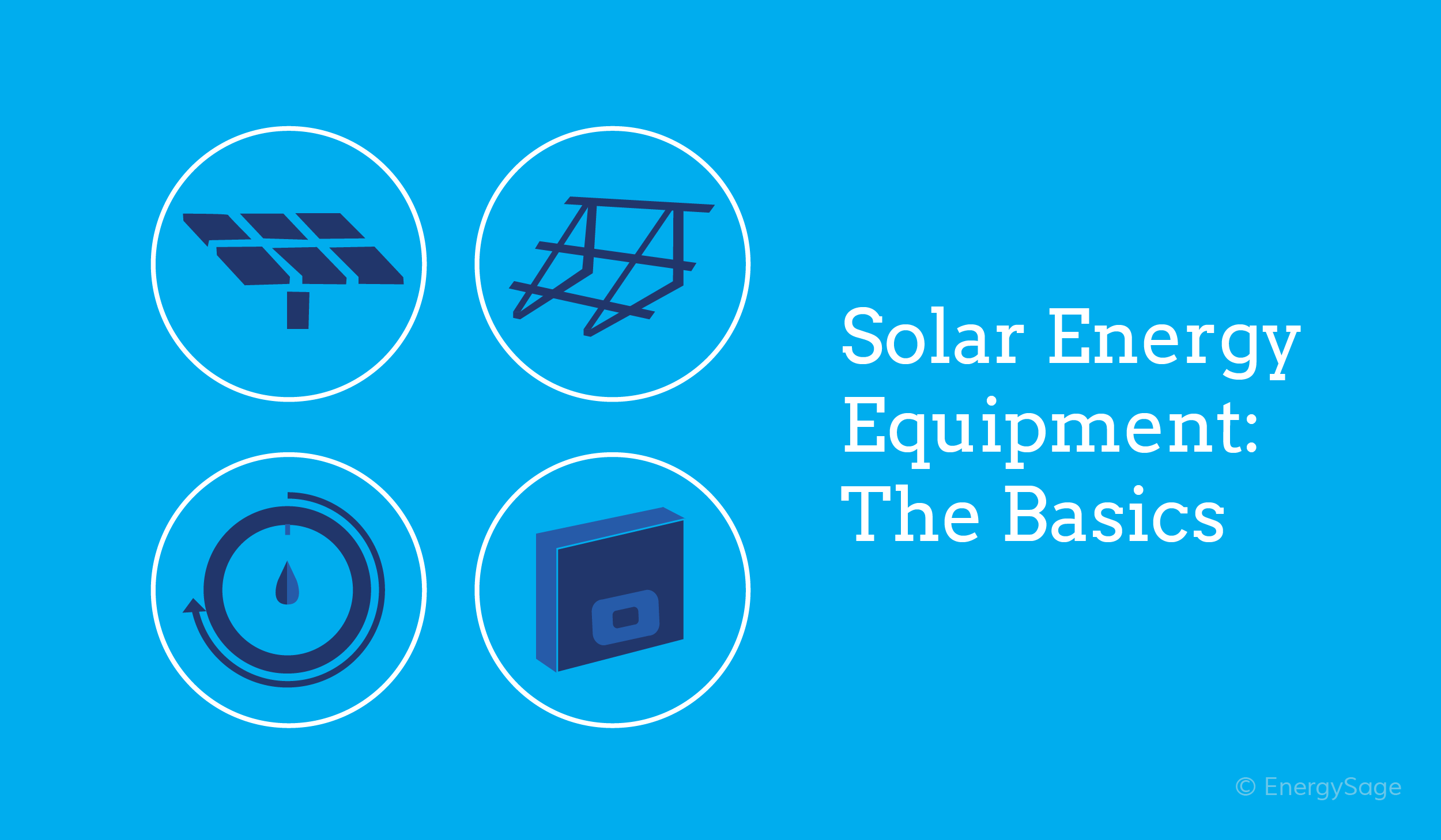 solar energy equipment basics EnergySage