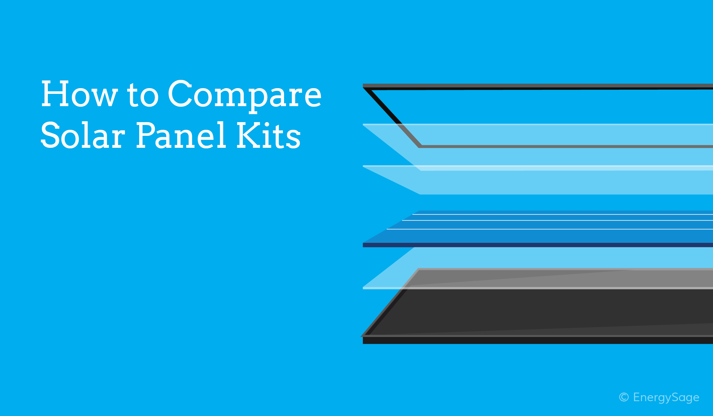 comparing solar panel kits for sale on EnergySage