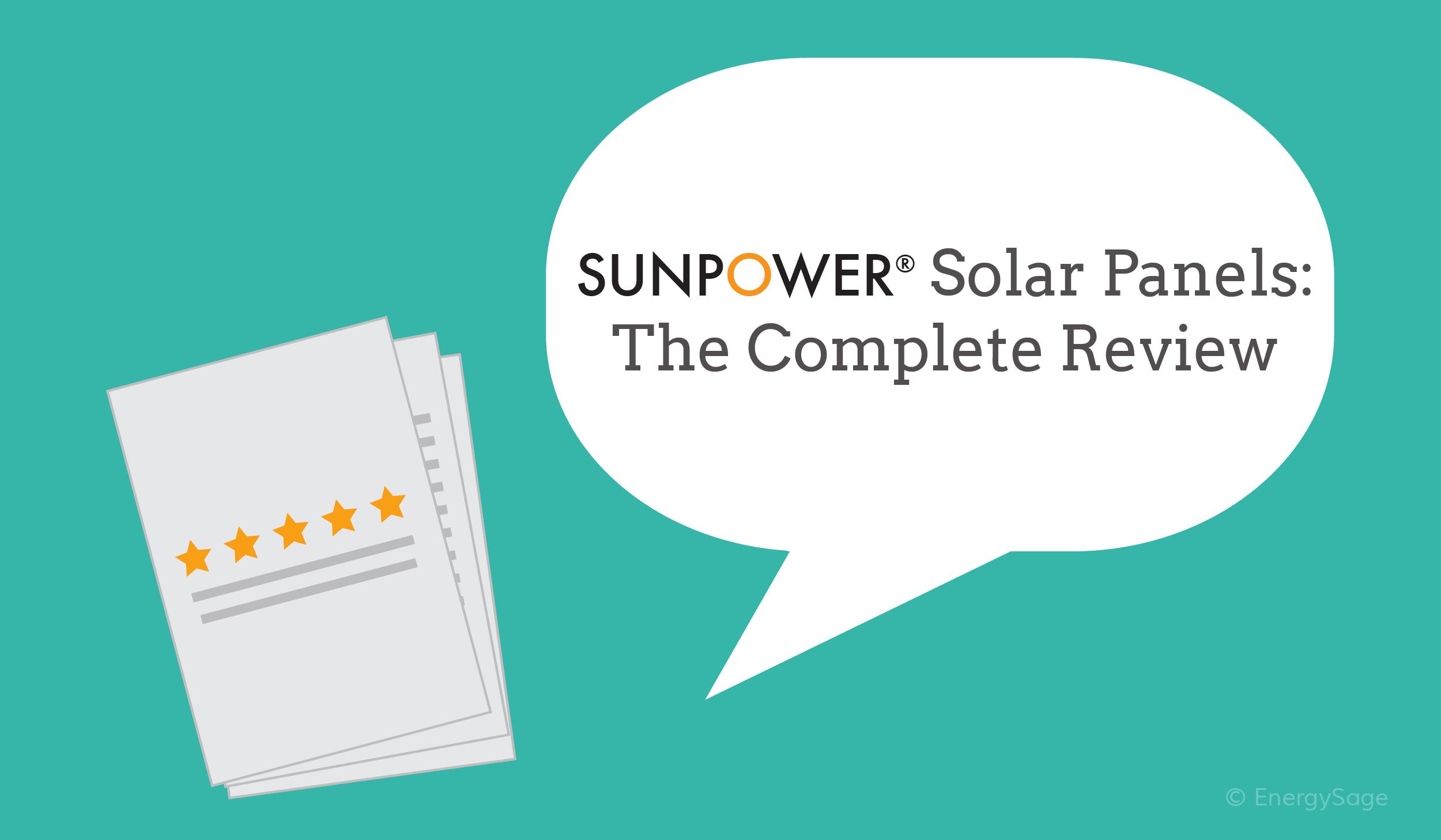 Sunpower Solar Panels 2018 The Complete Review Energysage