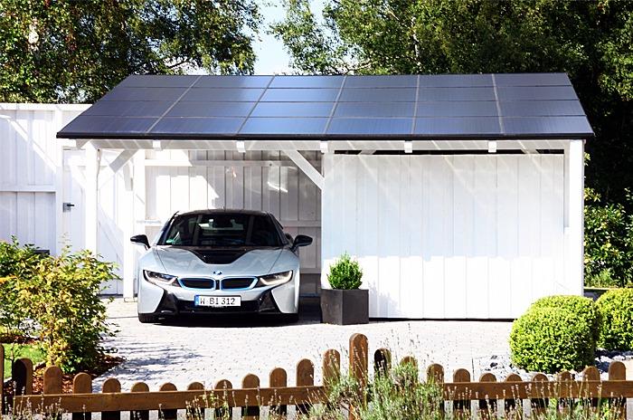 Home solar carport installation EnergySage