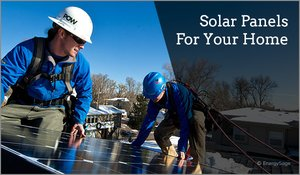 residential solar panels for home use
