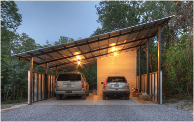 solar carport angled & Solar Carports: Do They Make Sense? | EnergySage