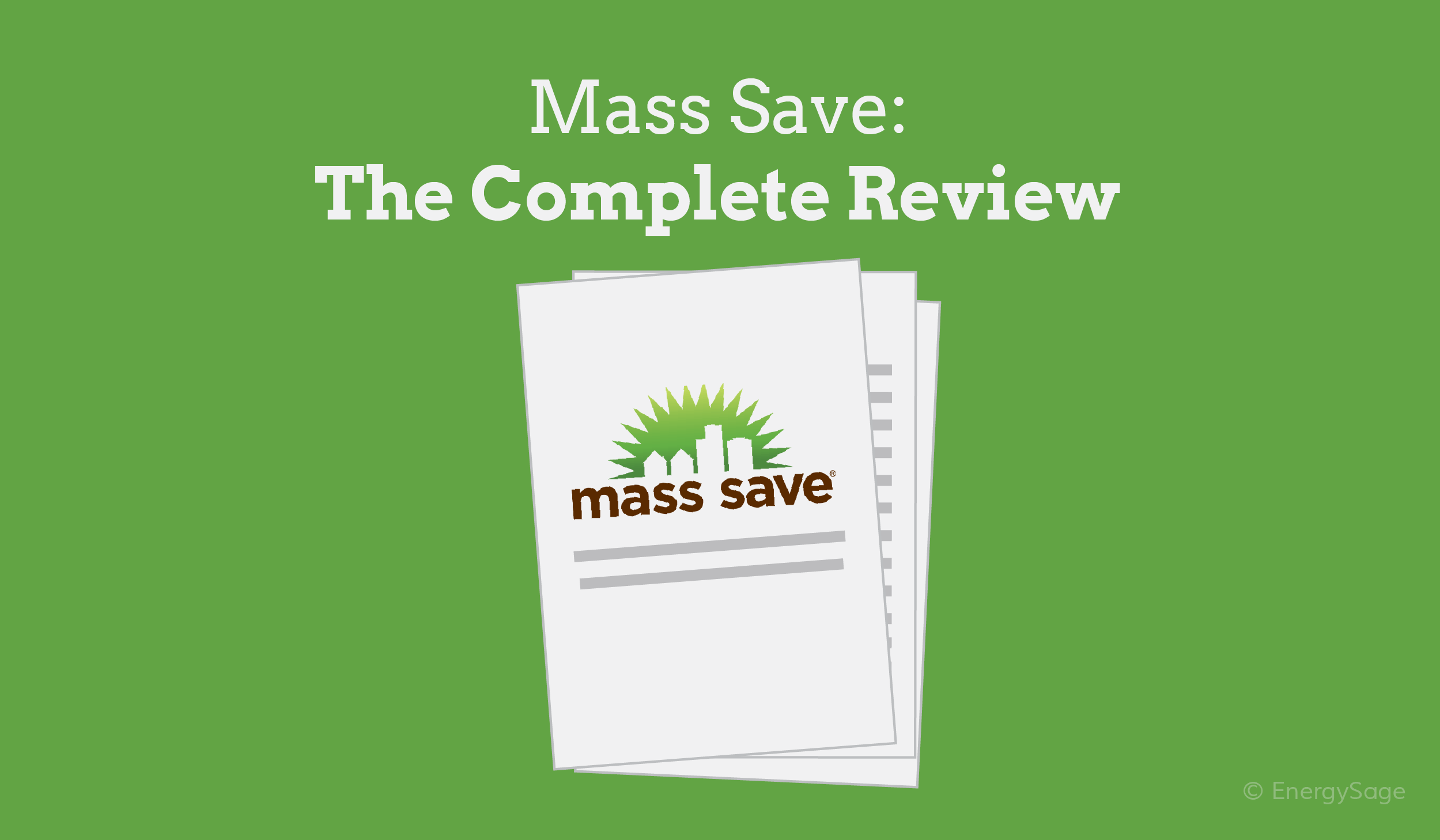 mass save energy efficiency program review
