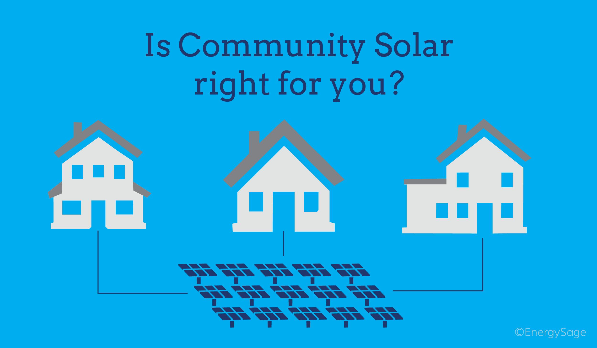 Community solar gardens EnergySage