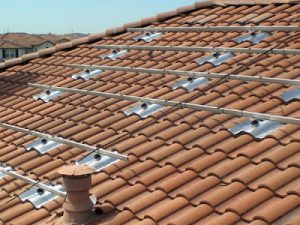 quick mount pv tile roof