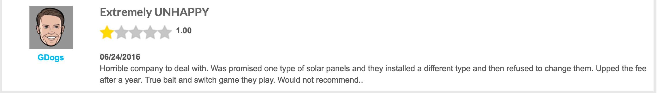screenshot of solarcity complaint width=