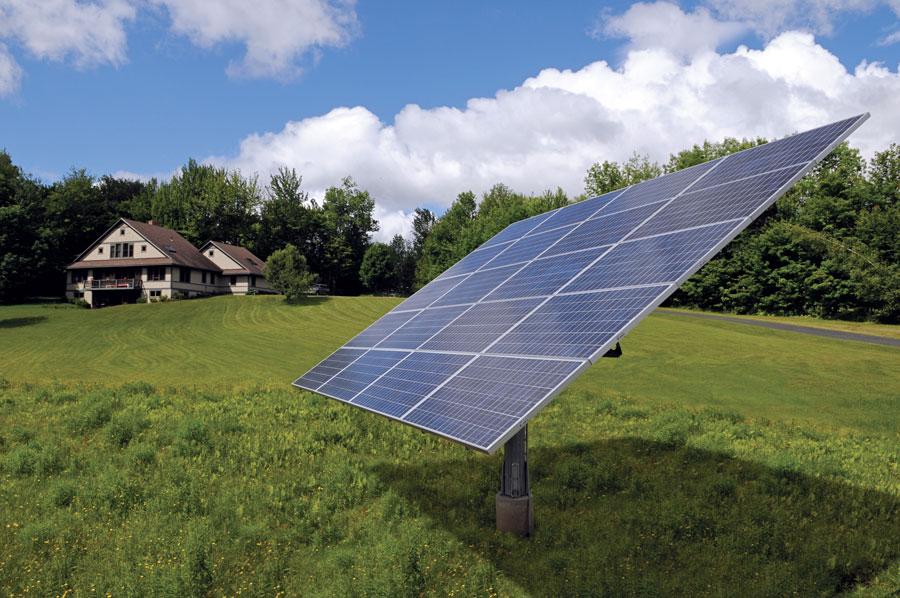 solar panel tracking mount