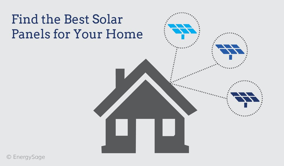 best solar panels 2017 graphic