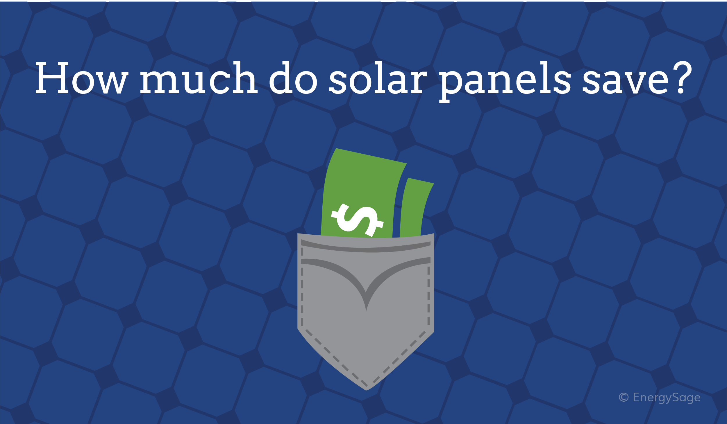 do solar panels really save you money graphic