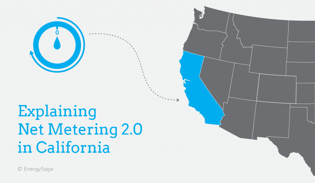 California net metering 2.0 overview