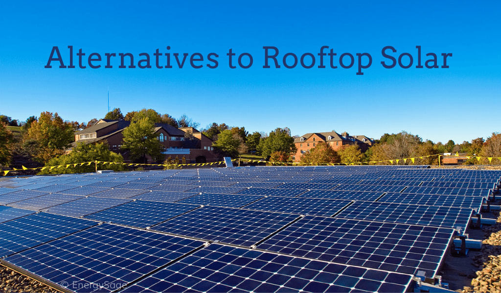 rooftop solar alternatives