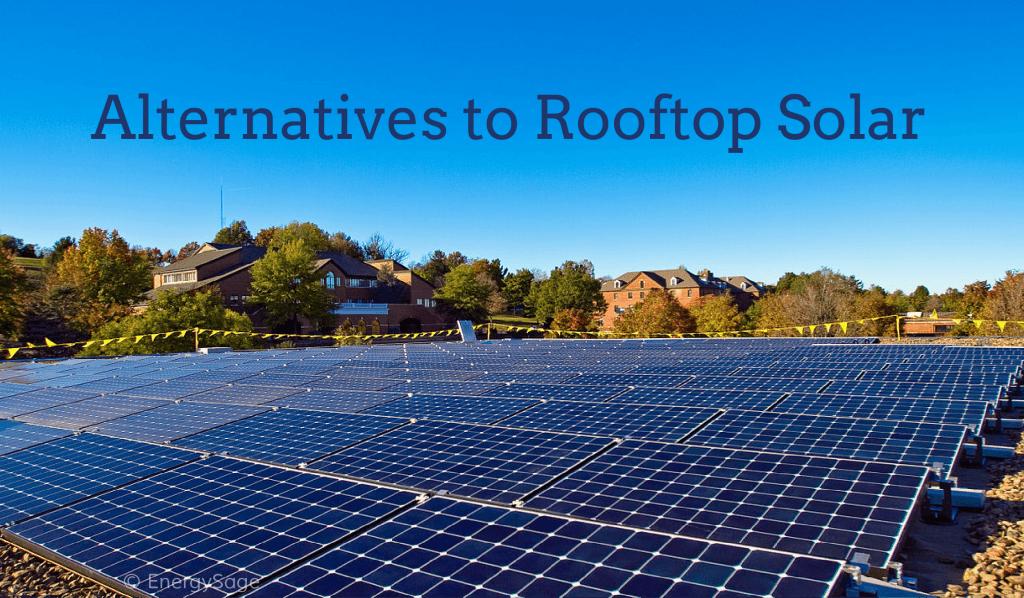 rooftop solar alternatives