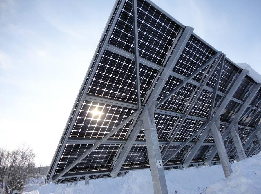 Los nuevos paneles solares para 2017