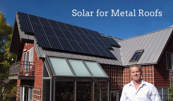 Can I Install Solar Panels On A Metal Roof In 2018