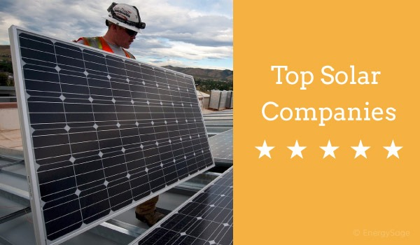top residential solar companies