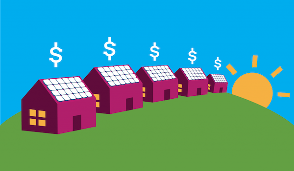 Solar increases property value graphic EnergySage