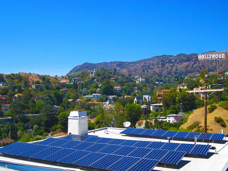 100% renewable energy in california