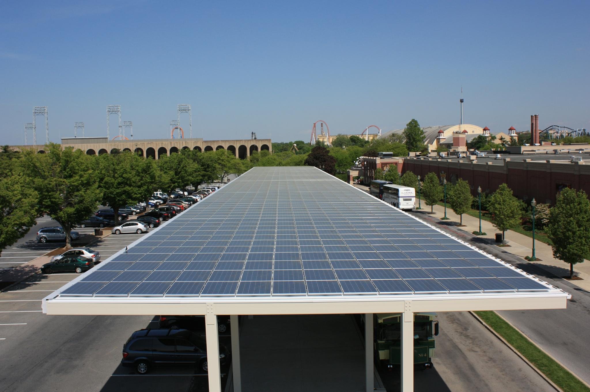 Solar Canopies Bring Solar Panels To Your Parking Lot