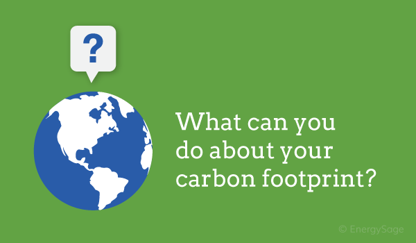 calculate your carbon footprint energysage graphic
