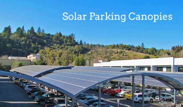 solar parking canopies EnergySage