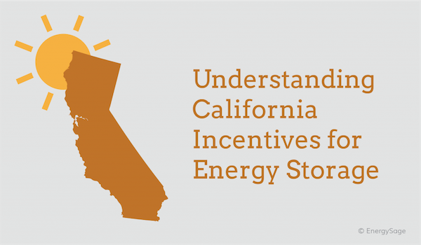 What solar incentives are available in california, 2018?