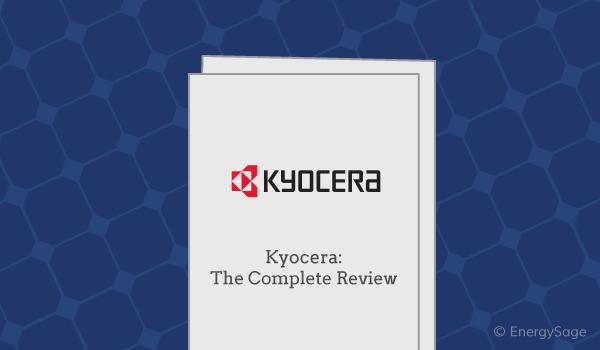 Kyocera solar panels review